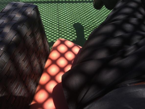 Siesta im Schatten