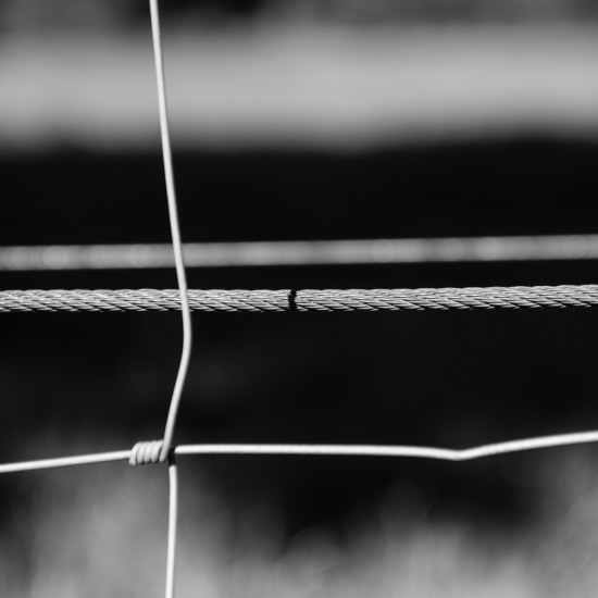 Seile und Draht Schatten
